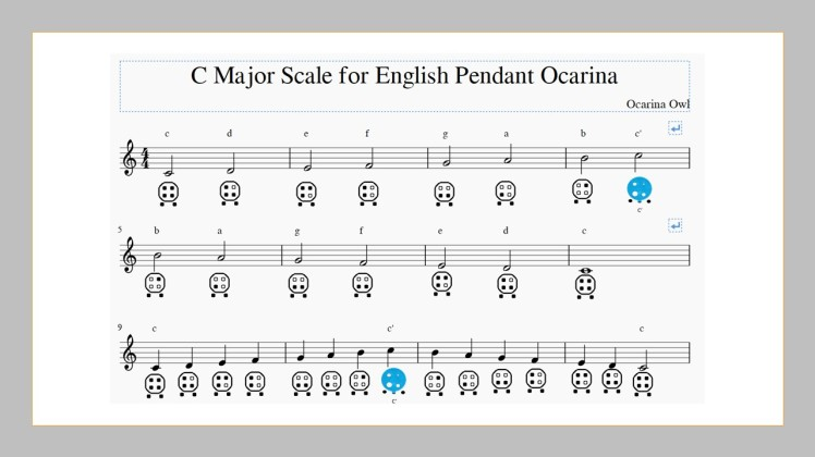 Learn to play 6 hole ocarina english pendant mastery series 6 hole english pendant ocarina songbook mozeypictures Images